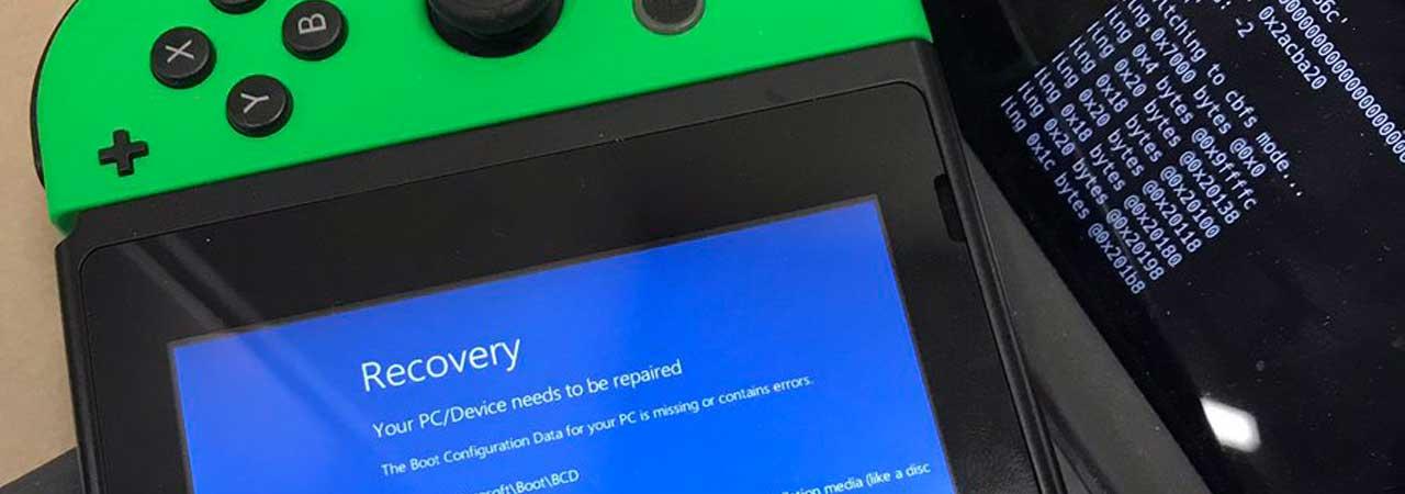 Windows 10 May Soon Run on the Nintendo Switch