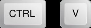 Ctrl+V Button