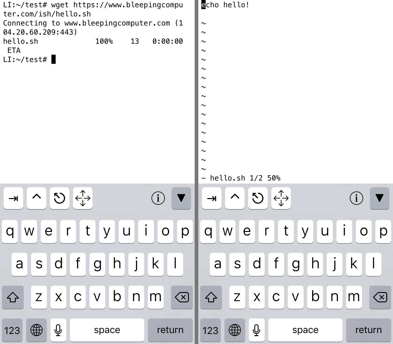iSH - An iOS Linux Shell for Your iPhone or iPad