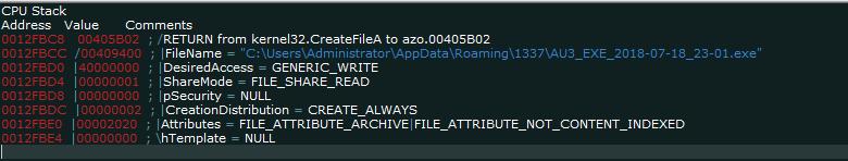 "CreateFileA Tìm hiểu Trojan AZORult – Công cụ ""thả"" ransomware Aurora"