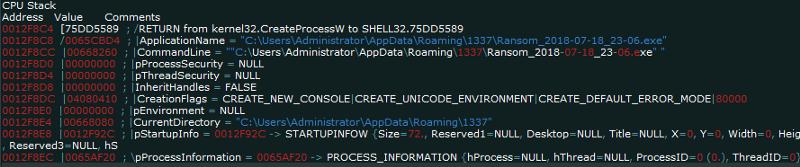 """Tạo ra quy trình Tìm hiểu Trojan AZORult – Công cụ """"thả"""" ransomware Aurora"""