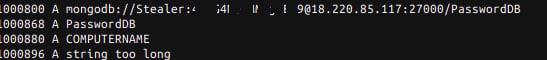 Hardcoded MongoDB Credentials