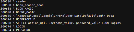 Targeting Chrome Passwords
