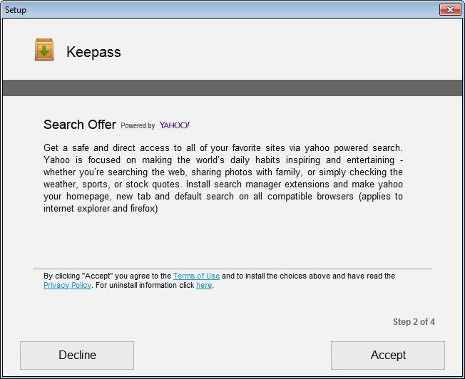 Site Promoting KeePass Password Manager Pushes Malware