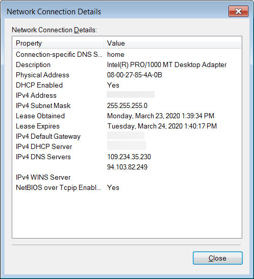 Configured with malicious DNS servers