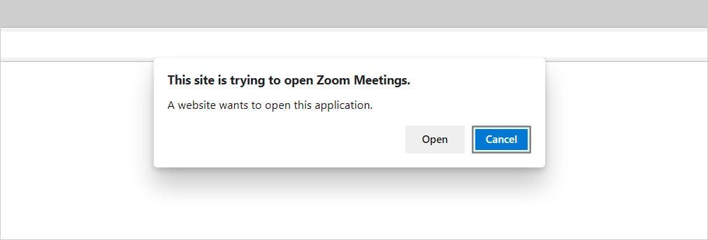 Zoom URL Handler