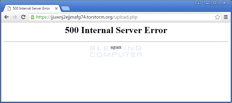 Internal Server Error on Free Decryption
