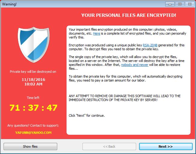 CryptoLuck Ransomware being Malvertised via RIG-E Exploit Kits