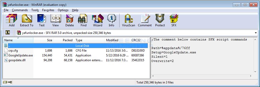 RAR SFX File