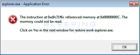 Fake Windows Defender Alert