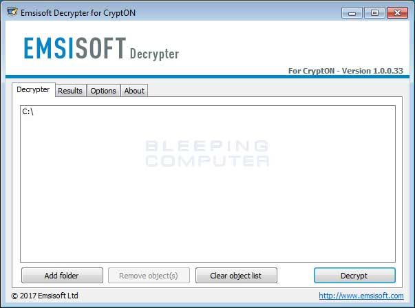 Cryptolocker decryption key missing