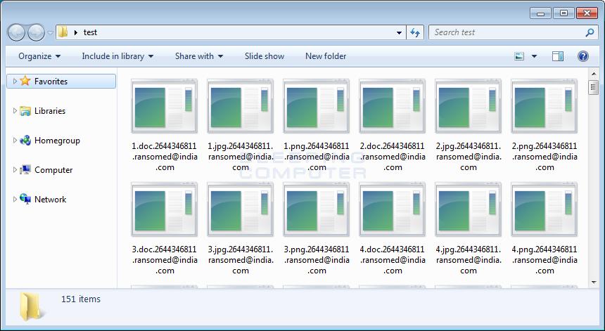 CryptON Encrypted Files