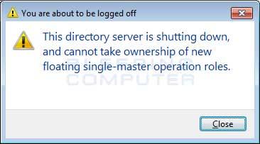 Shutdown Alert
