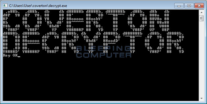 Coverton Decryptor