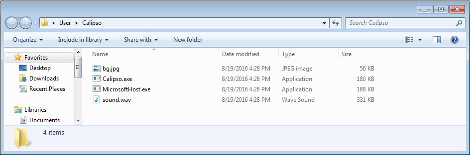 Calipso Folder