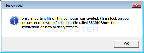 Files Crypted Alert