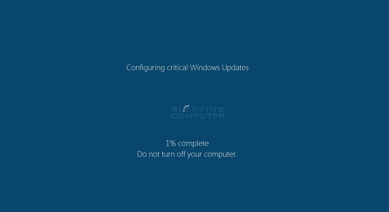 Windows Update Fake