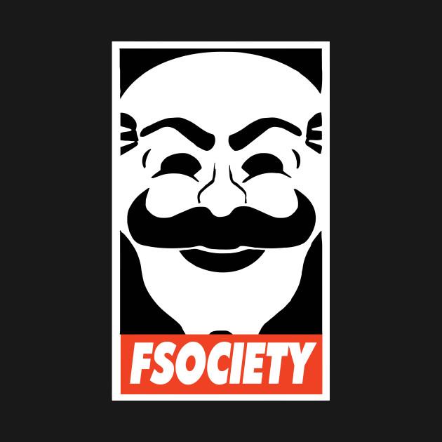 FSociety Ransomware Wallpaper