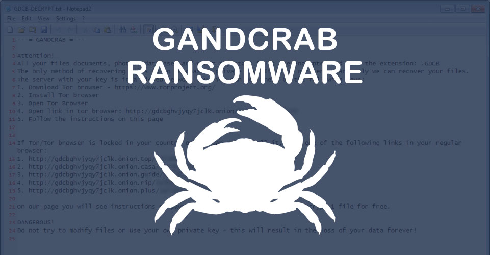 Gandcrab Ransomware Being Distributed Via Malspam Disguised As