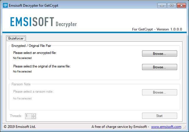 GetCrypt Decryptor