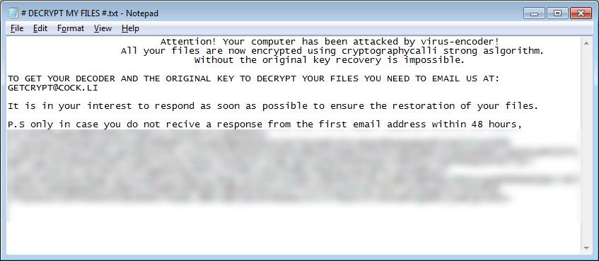 GetCrypt Ransom Note
