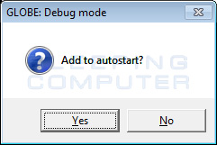 Debug: Add to Autostart
