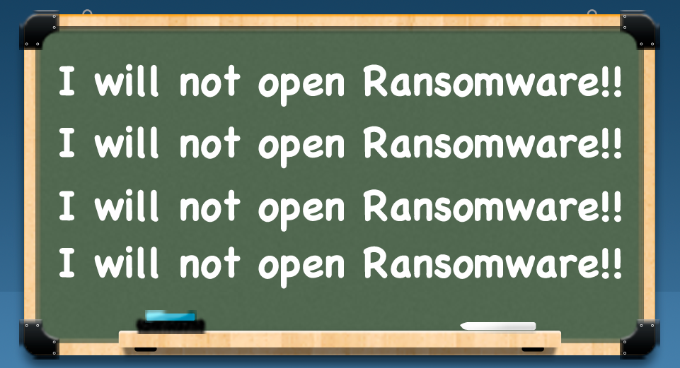 Will-not-open-ransomware