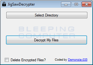 Jigsaw Decrypter