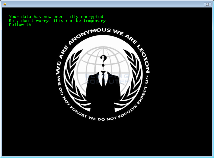We are Anonymous Background
