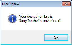 Retrieved Decryption Key