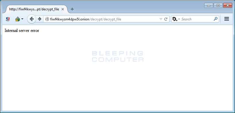 Broken Free Decryption Service