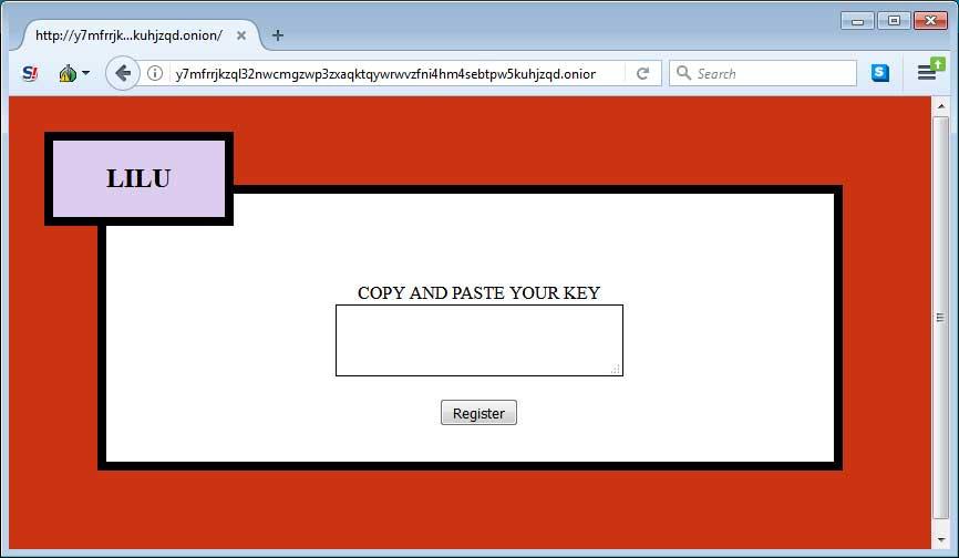 Lilu Tor Payment Site Login