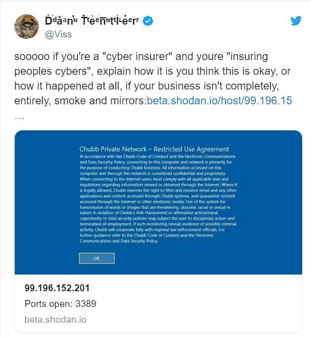 Dan Tentler tweet