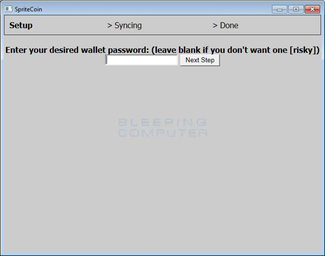 SpriteCoin Wallet
