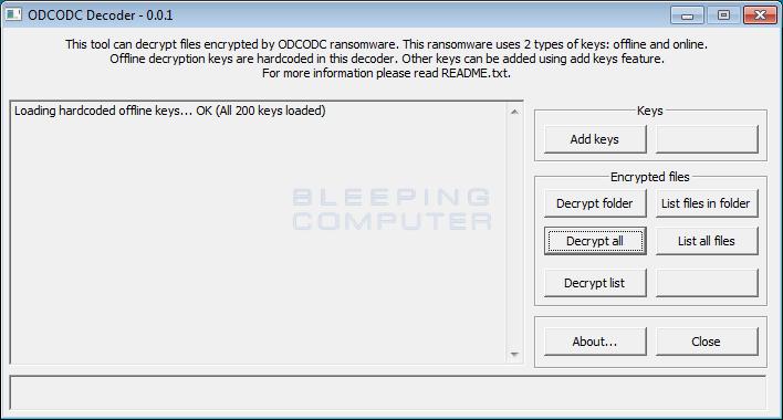 ODCODC Decoder