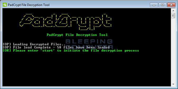 PadCrypt Decrypter