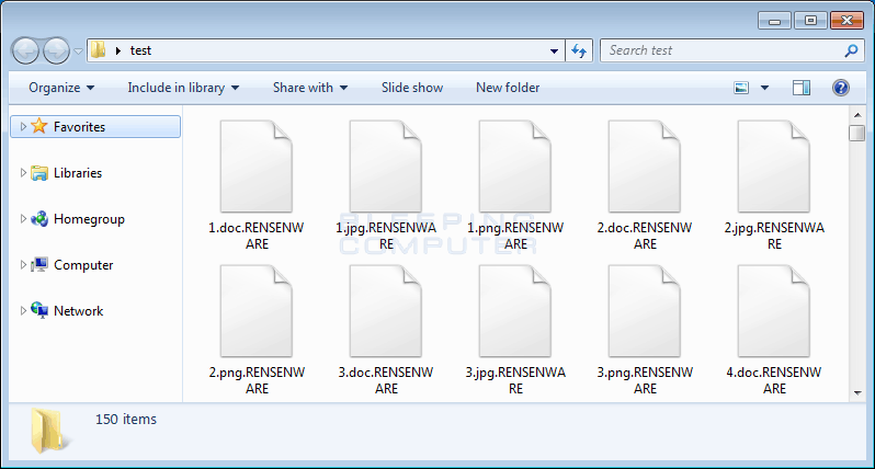 RensenWare Encrypted Files
