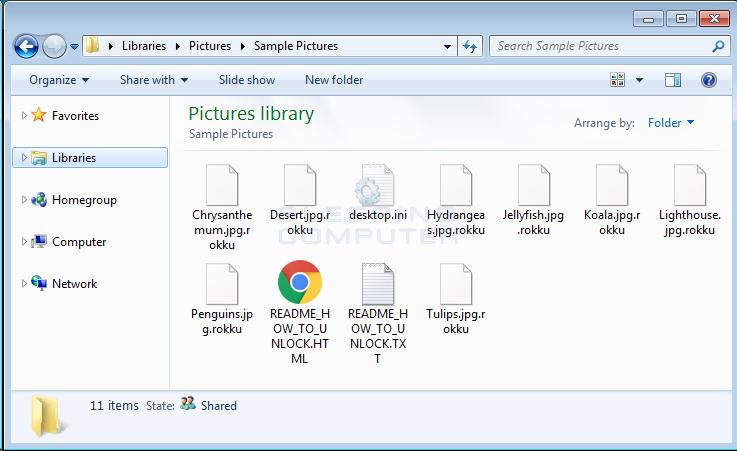 Rokku Encrypted Folder