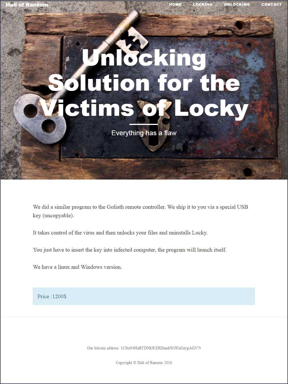 Unlock Page