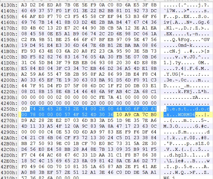 Crysis/Dharma File Marker