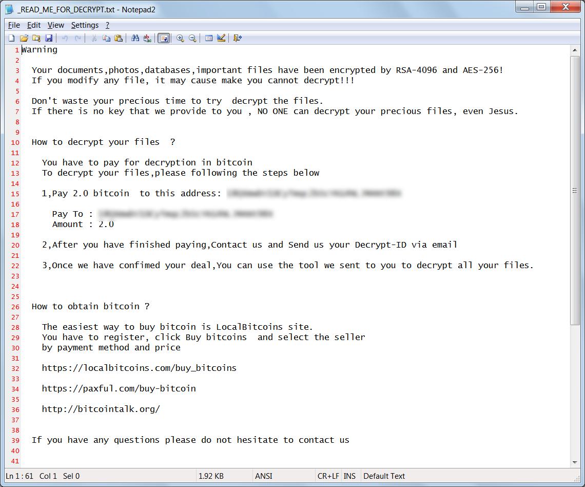 StorageCrypt Ransom Note