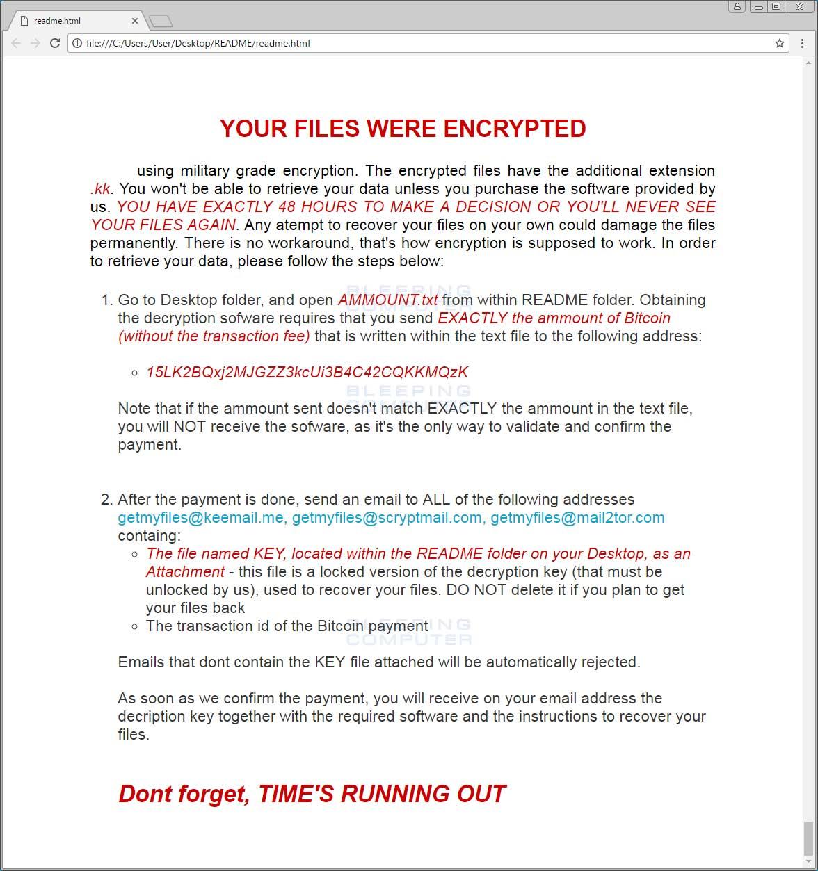 SyncCrypt Ransomware Hides Inside JPG Files, Appends  KK
