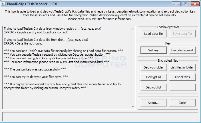 Decryption Key Set
