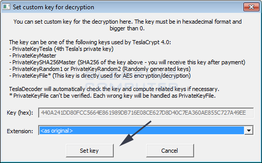 how to set your computer to press a certain key