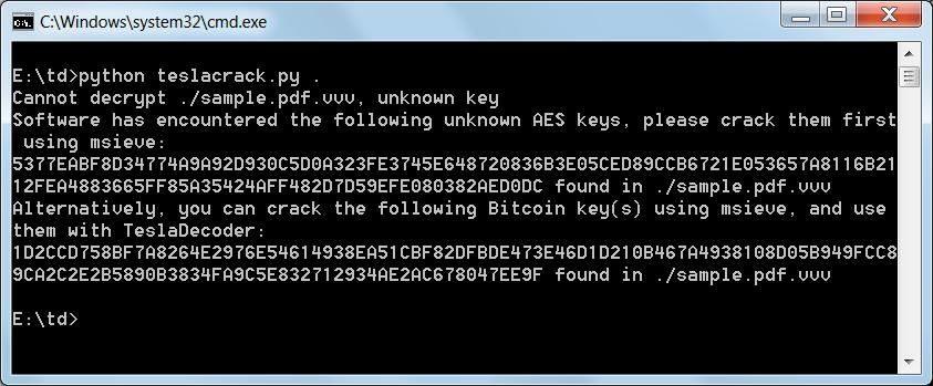 TeslaCrack Python Script