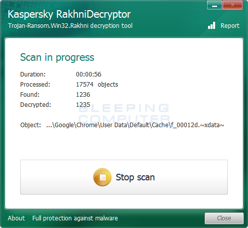 Decrypting XData Encrypted Files